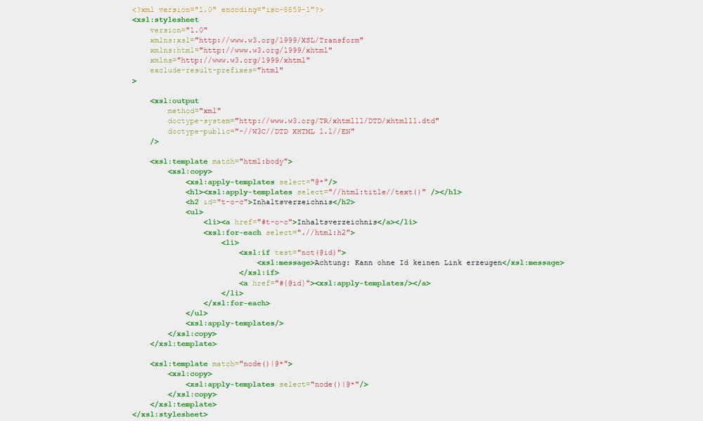 Referenzbild - XML-Schema-Tool